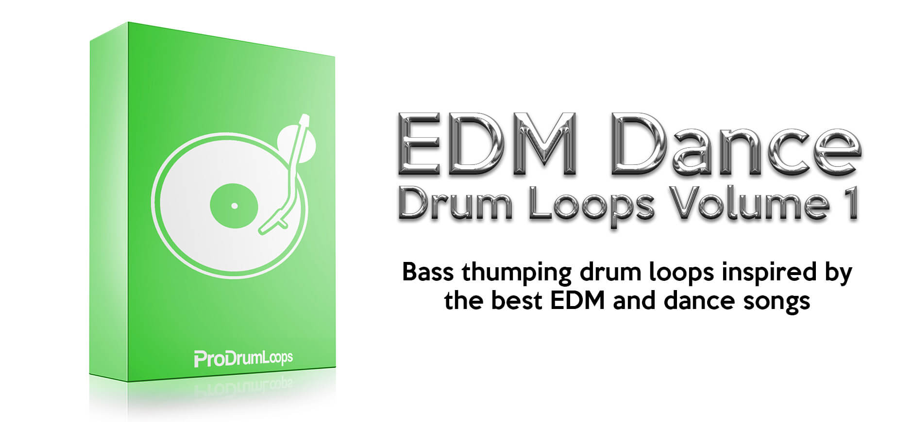 EDM Dance Drum Loops by Pro Drum Loops