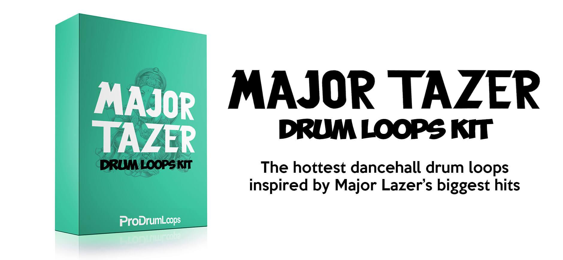 Major Lazer Drum Loops Kit
