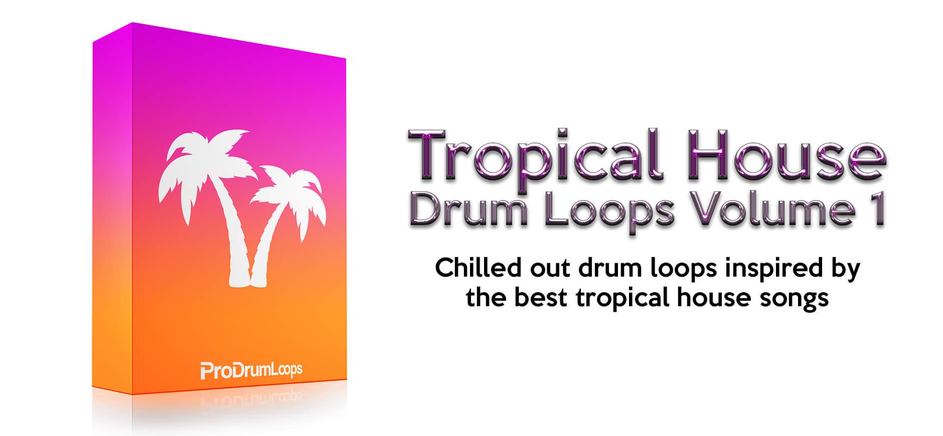 Tropical House Drum Loops Kit 1