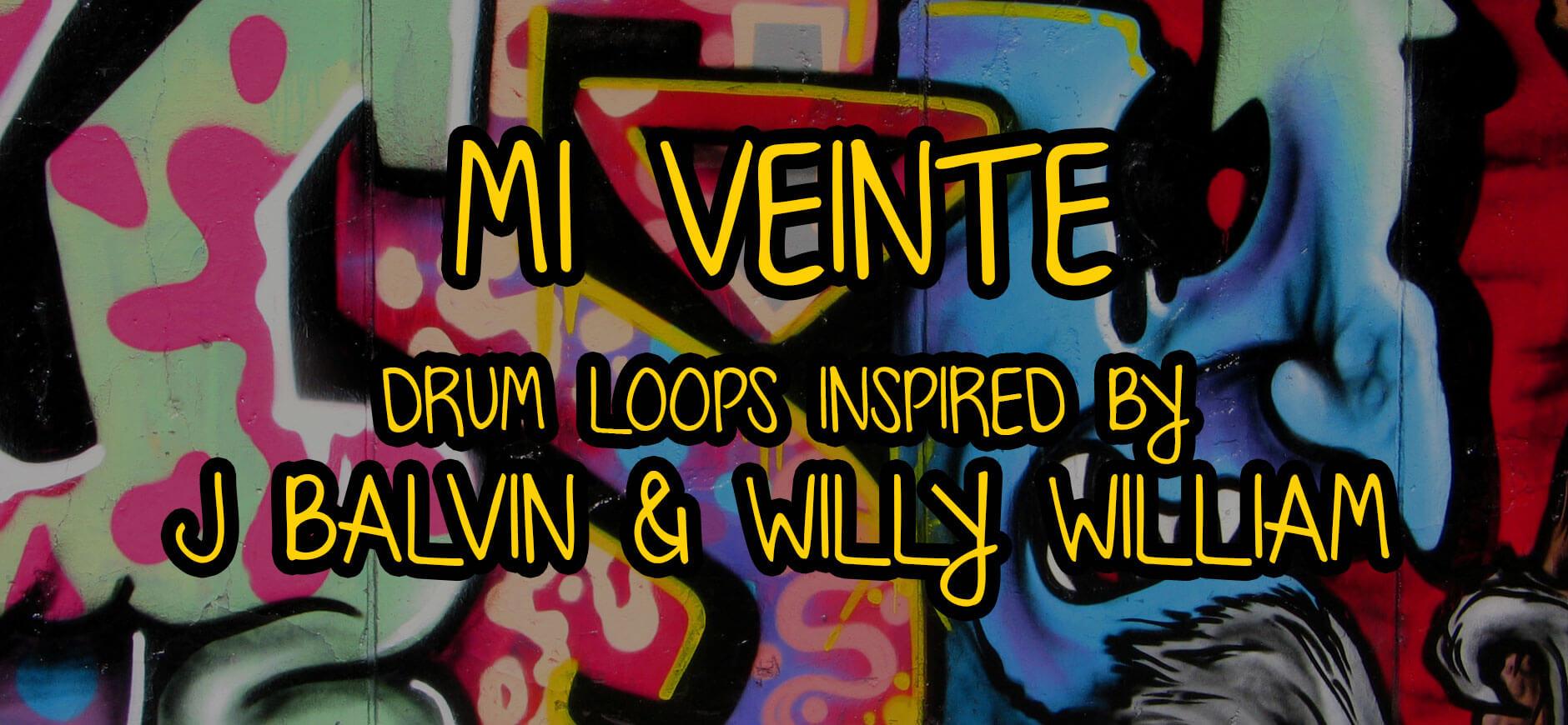 Mi Gente Drum Loops Inspired by J Balvin & Willy William