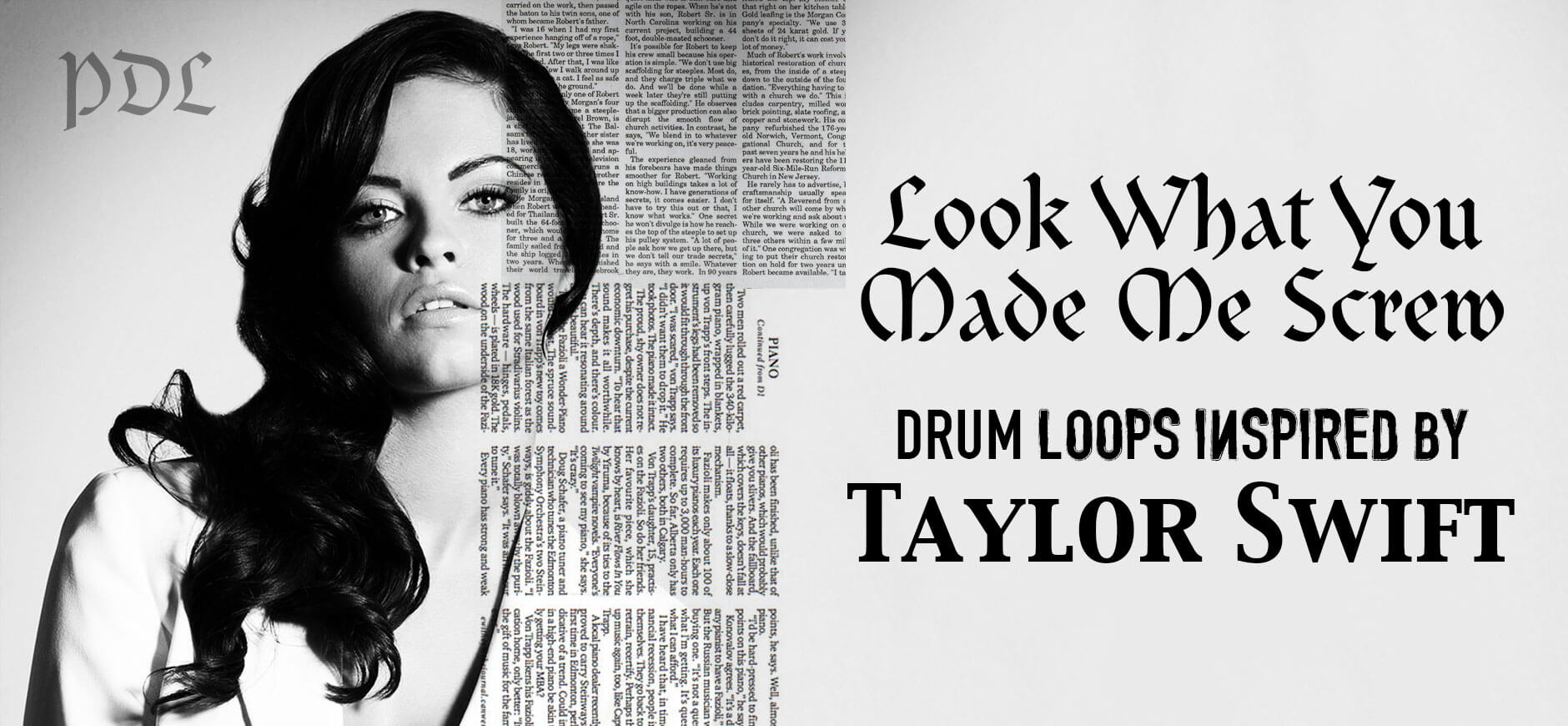Look What You Made Me Do Drum Loops Inspired by Taylor Swift