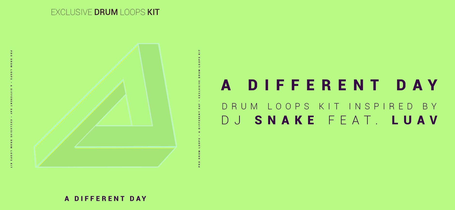 A Different Way Drum Loops Inspired by DJ Snake ft. Luav