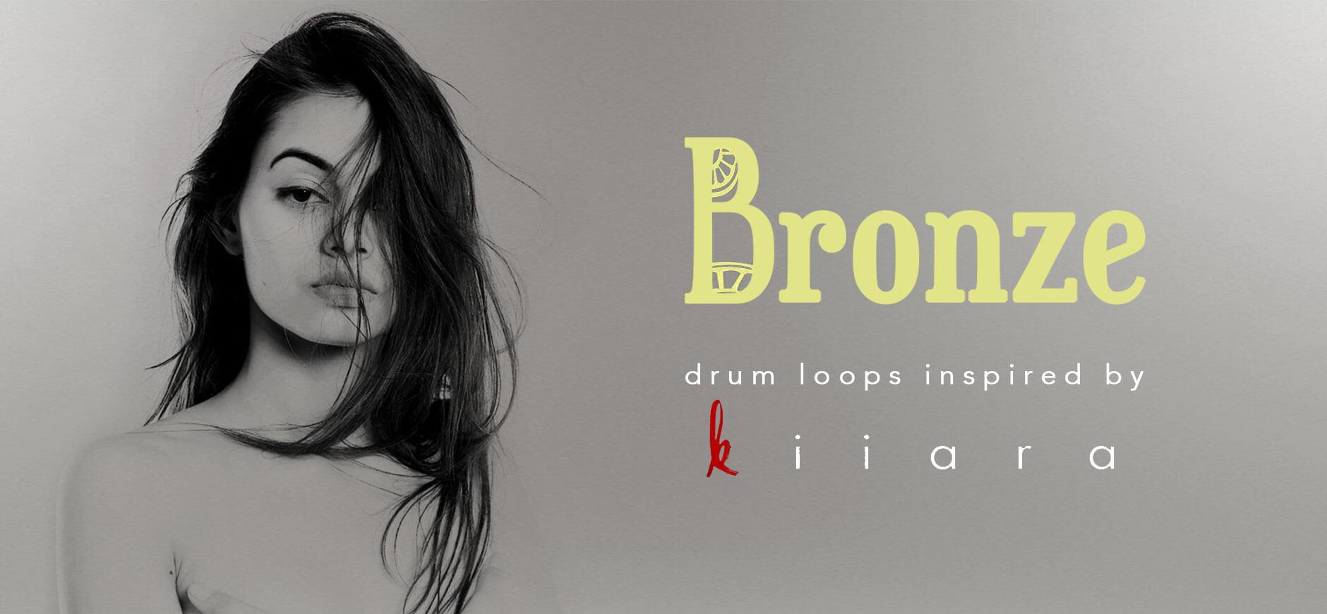 Gold Drum Loops Inspired by Kiiara