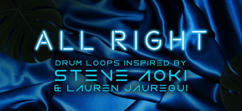 All Night Drum Loops Inspired by Steve Aoki